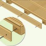 kompozitná doska - montáž