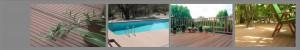 kompozitná doska - bazén, terasa, relaxačný kútik