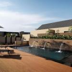 terasová doska - bezpečná plocha pri bazéne